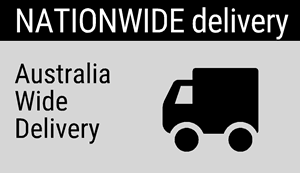Nationwide Delivery: Australia-wide delivery.