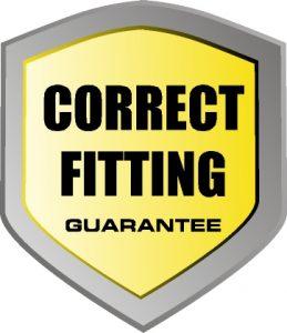 Correct Fitting Guarantee