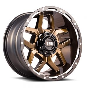 GRID GD07 GLOSS BRONZE BLACK LIP