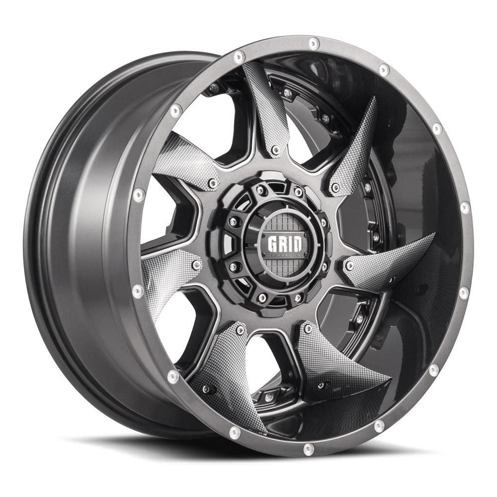 Grid Gd01 Infinity Wheels Offroad Tough Steel Wheels