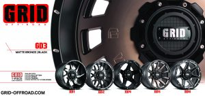 Grid GD Offroad Alloy Wheels