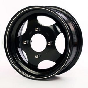 Subaru 5 spoke steel wheel