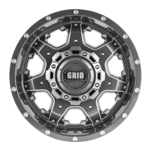 Grid GD1 Alloy Wheel (gloss graphite milled)