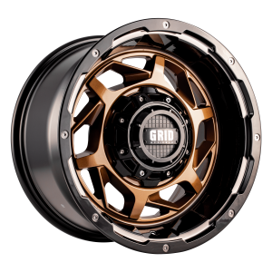Grid GD14 Alloy Wheel (bronze with gloss black lip)
