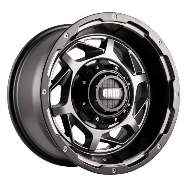 Grid GD14 Alloy Wheel (anthracite with matte black lip)