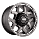Grid GD7 Alloy Wheel (matte anthracite milled with matte black lip)