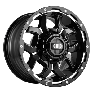 Grid GD7 Alloy Wheel (matte black milled)