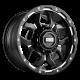 Grid GD7 Alloy Wheel (matte black milled)