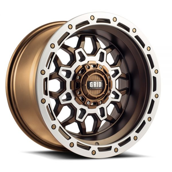 GRID GD09 MATTE BRONZE MACHINED