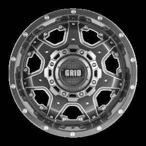 GVM LANDCRUISER WHEEL GRID GD14 GLOSS BRONZE BLACK LIP 1650KGS (17X9 5X150 -12)