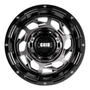 GVM LANDCRUISER WHEEL GRID GD14 GLOSS BRONZE BLACK LIP 1650KGS (17X9 5X150 -12)