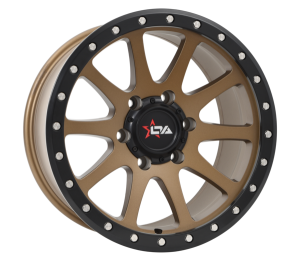 OFFROAD ARMOUR GRINDER SATIN GREY (17X9)