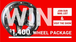 Win a 1400 Wheel Package