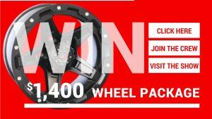 Win a $1400 Wheel Package