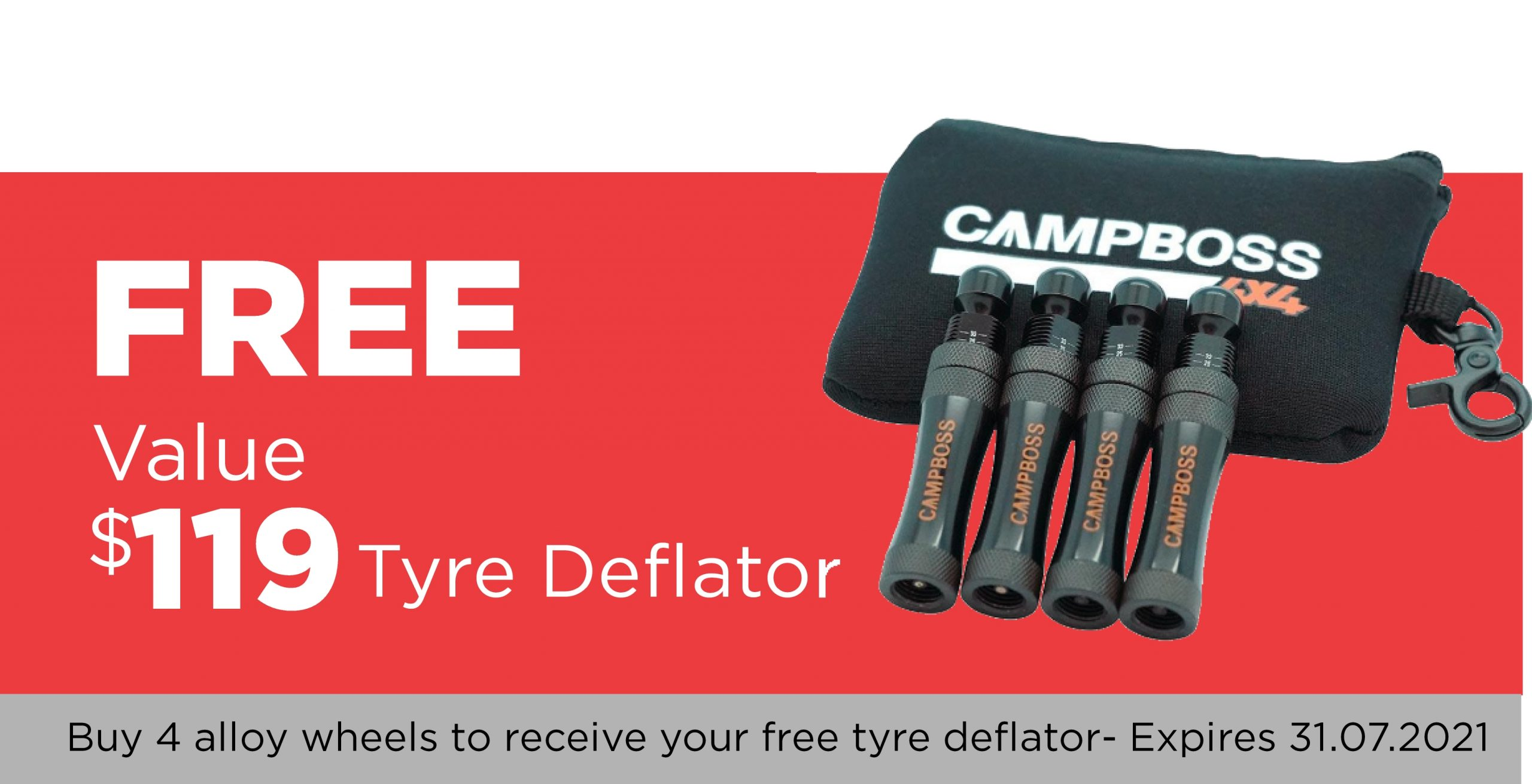 July Special Free Tyre Deflator
