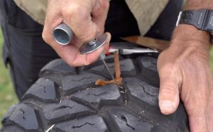 Campboss by All 4 Adventure Tyre Repair Kit 4-in-1 Tyre Repair Tool